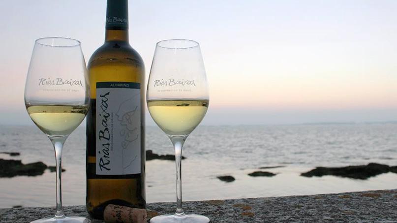 historia del vino albariño